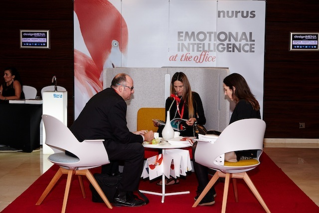 Networking - DesignMENA Summit 2015 taken on the 8th of December 2015 at Grosvenor House, United Arab Emirates, (Photo by Sharon Haridas /ITP Images)