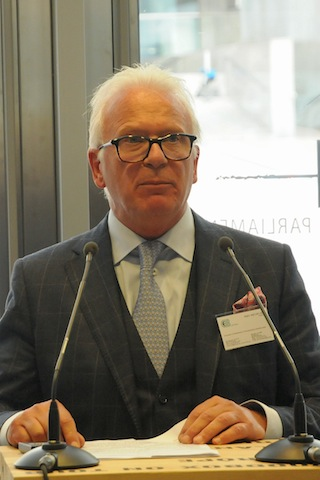2014 Wood action days - opening ceremony - Marc Michielsen, Chairman of CEI-Bois