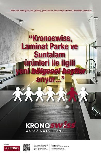 Orsiad Gazetesi TEMMUZ / 2017 Sayısı KRONOSWISS 2. ilanı.